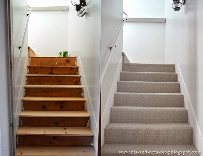 stairs carpet makeover