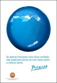 Cartaz Azul Picasso