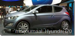 2012 Autosalon Geneve - Hyundai i20 facelift