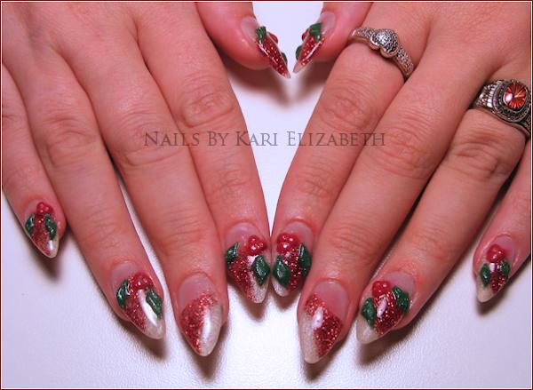 DSCF8157 Cool Christmas Nail Designs