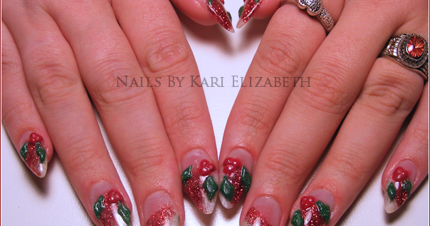 Cool christmas nail designs for short nails don t miss classy view images cool christmas nail designs prinsesfo Choice Image