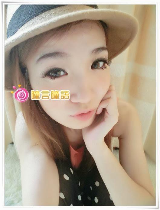日本ROYAL VISION隱形眼鏡-蜜桃甜心金咖15