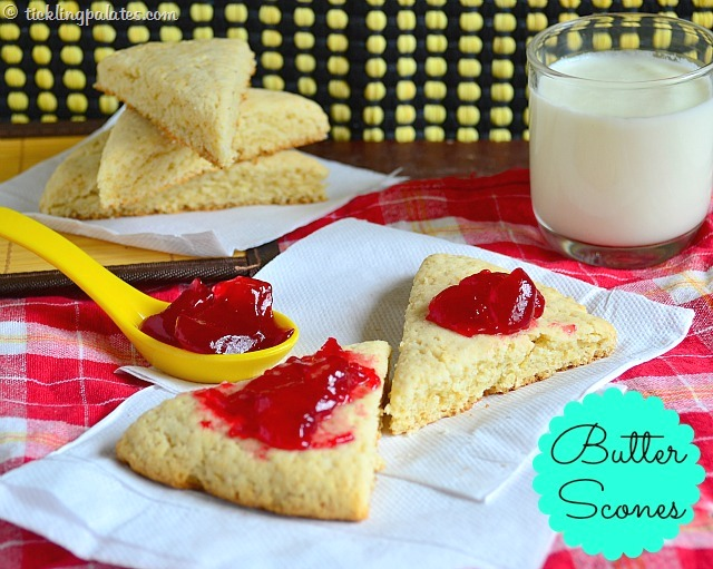 Butter Scones Recipe