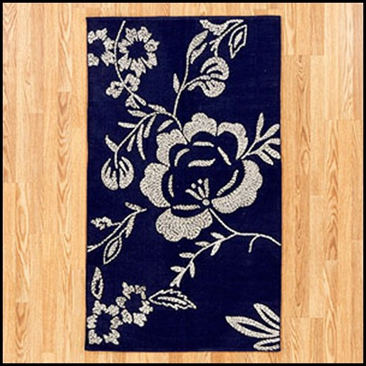 wool chrocheted rug 3x5 49.99 world market