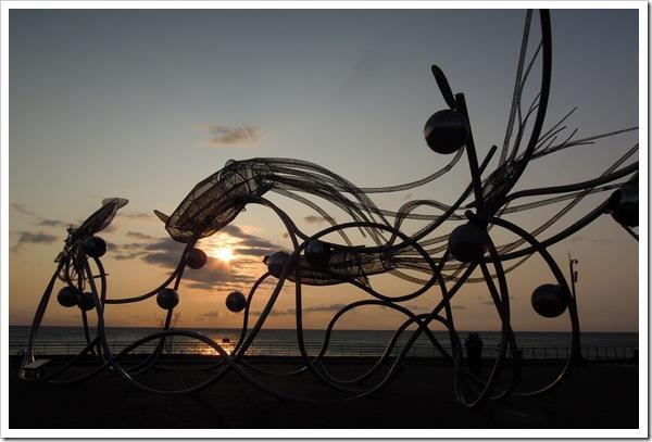 海生館-夕陽