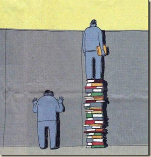 reading gives you perspective