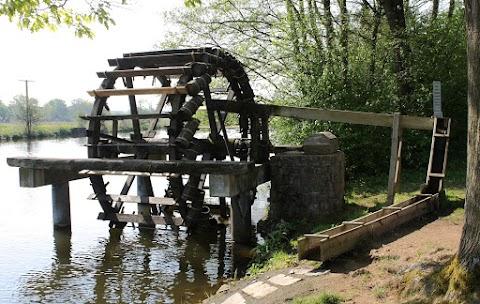 """Water wheel """"Kümpfen"""", Regnitz - Hausen"""