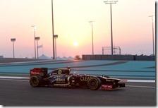 Raikkonen ha vinto il gran premio di Abu Dhabi 2012