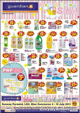 Guardian-Mom-And-Baby-Sale-2011-EverydayOnSales-Warehouse-Sale-Promotion-Deal-Discount