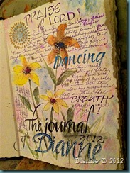 Dianne art journal1