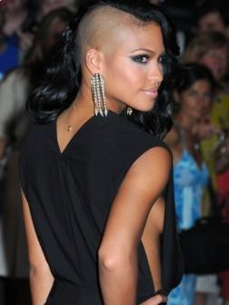 Cassie with Cool Short Hairstyle for women