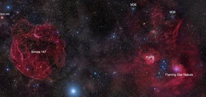 constelação de Auriga