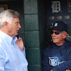Governor Beebe's night with the Detroit Tigers