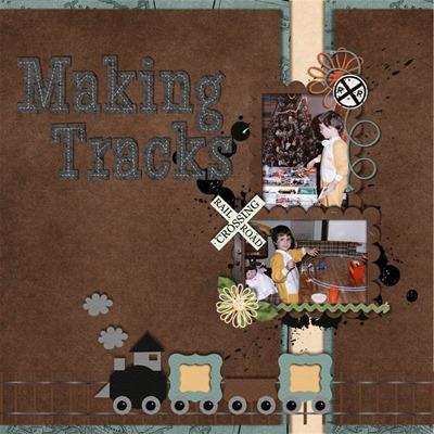 Leaving a Legacy Designs - Making Tracks - Making Tracks