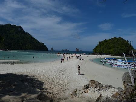 Plaje Thailanda: plaja din trei parti