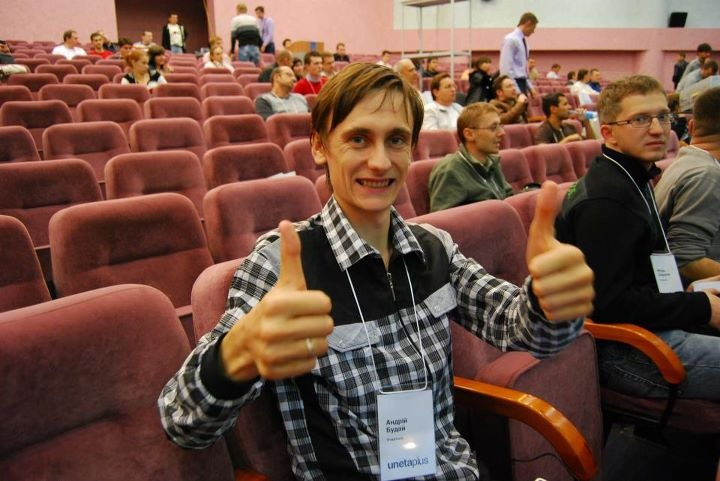 Andriy Buday at Uneta Plus Conference