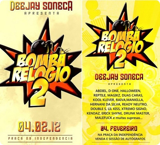 Dj Soneca - Bomba Relógio Vol.2