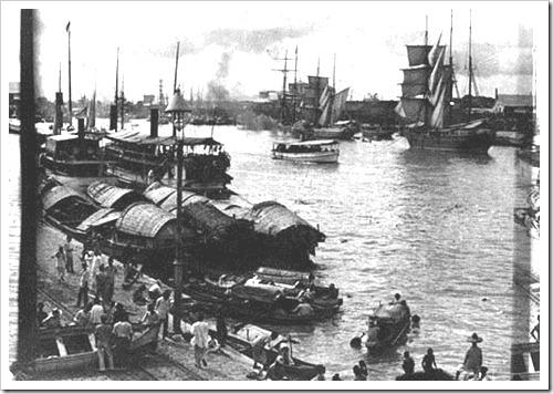 Manila Harbor c1900s