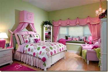 decoración de dormitorios juveniles femeninos8