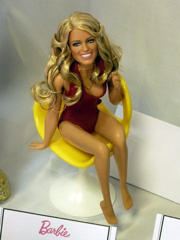 Madrid Fashion Doll Show - Barbie Farrah Fawcett