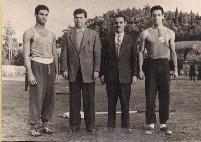Γ. Κάβουρας: «Ο συναθλητής μου Αντώνης Τρίτσης»