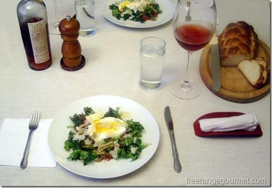salad lyonnais 20110806