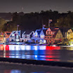 Boathouse Row Holiday Lights