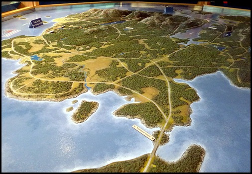 1 - Hulls Cove Visitor Center - Map