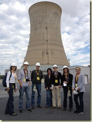 Exelon and NEI host a tour for news media at Three Mile Island