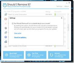 برنامج لمعرفة و إزالة البرامج والملفات الضارة والغير مفيدة Should I Remove It - سكرين شوت 4