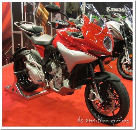 Salon Moto Montreal 2015 - MV Agusta TurismoVeloce 800