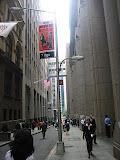 Wall Street in Manhattan