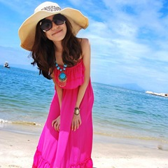 femeie protectie solara rochii de vara sandale accesorii