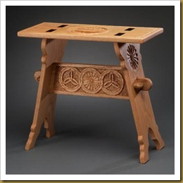 Medieval Trestle Stool2-blog