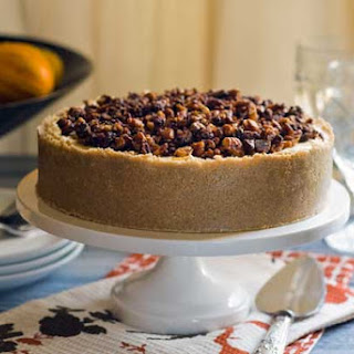 Gluten Free No Bake Pumpkin Praline Cheesecake