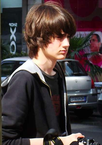 image of emo hunk