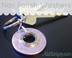 Nail Polish Washer Keychains[6]