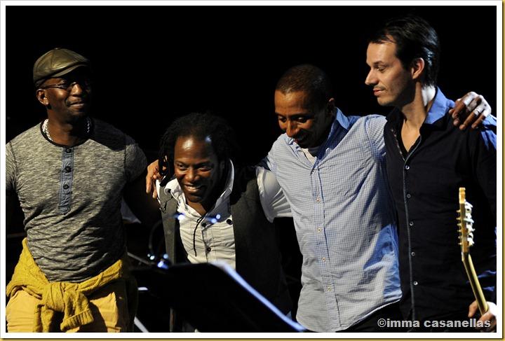 Julio Barreto, Ramón Valle, Omar Rodríguez i Jesse Van Ruller (Barcelona, 2012)