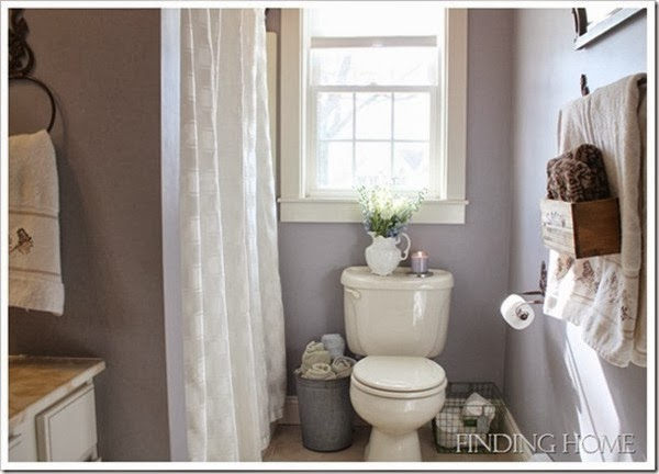 Mysterious mauve favorite paint colors blog Mauve bathroom