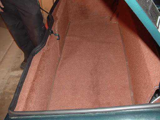 Jensen Healey - Trunk Carpet