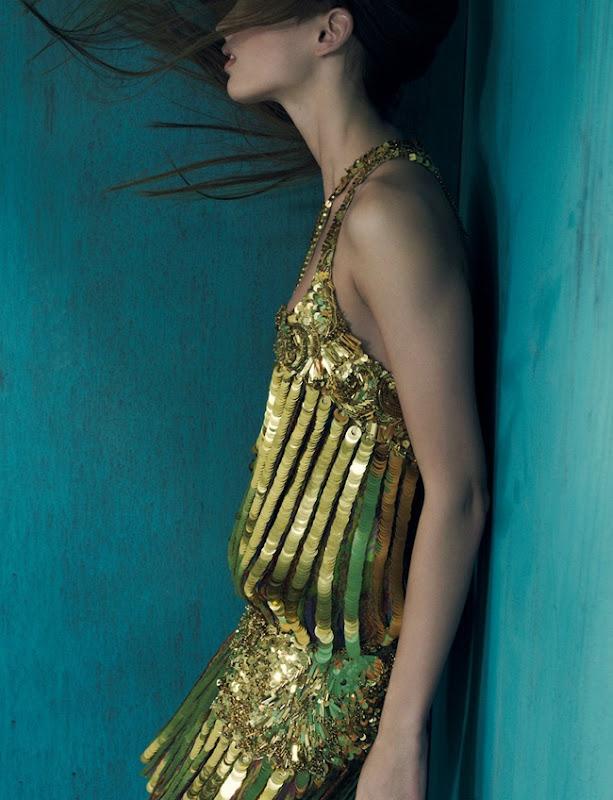 Georgina Stojiljkovic by Max Cardelli (Lustre Wear - Marie Claire UK February 2012) 7