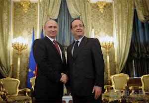 法国邀请普京参加二战周年庆典