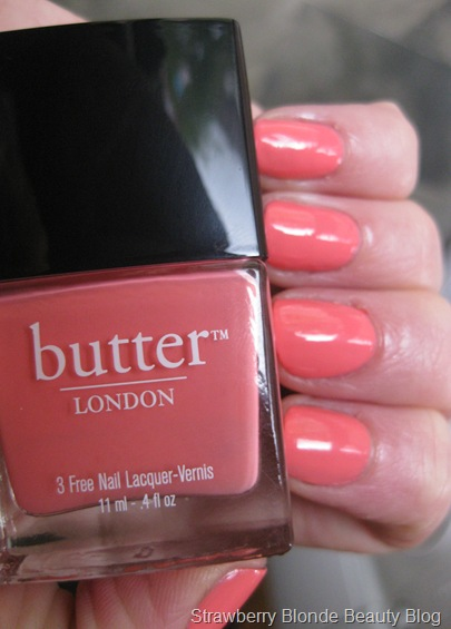 Butter London Trout Pout Nail polish swatch