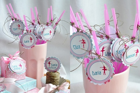 Anula Handmade Urodziny Baleriny