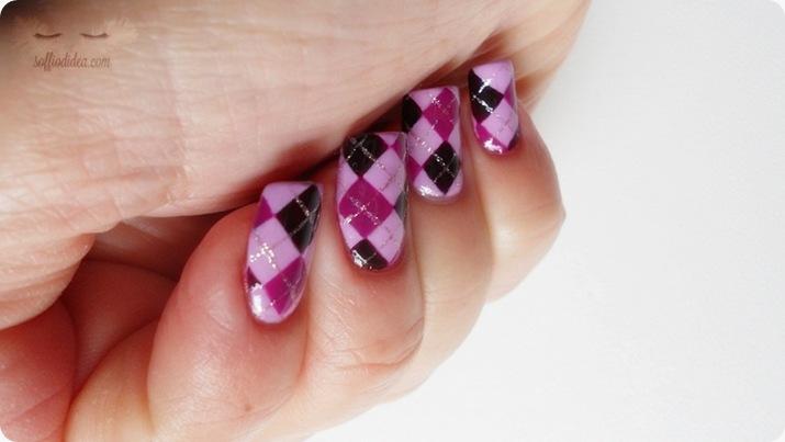 nailart-nail art-soffiodidea-soffio di dea-rombi-2a