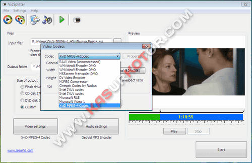 Download VidSplitter - Aplikasi untuk Split/Memecah File Video