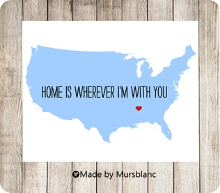 usa love map