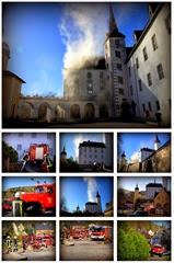 Hotelbrand in Sachsen