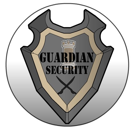 Corporate log for Guardian Security -  for my Superhero campaign.  Created with Heromachine