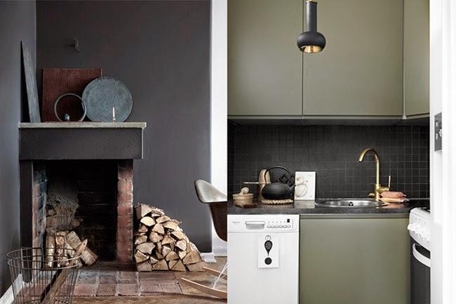 Interior_styling_appartamento_stoccolma_Tina_Hellberg_camino_cucina